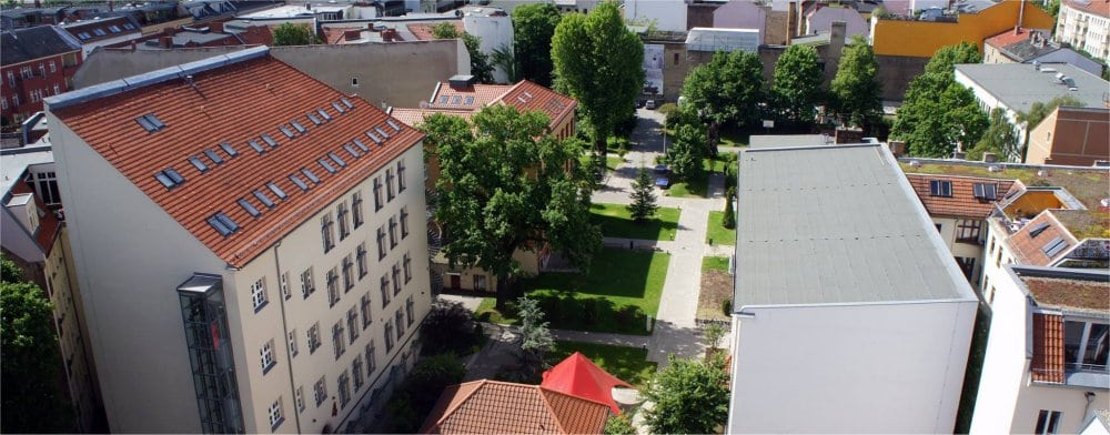 Berlin: Campus grounds