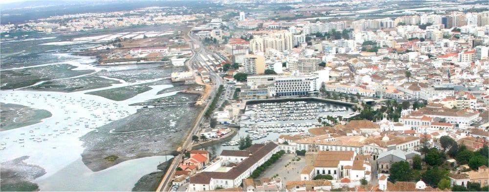 Faro: Ariel view