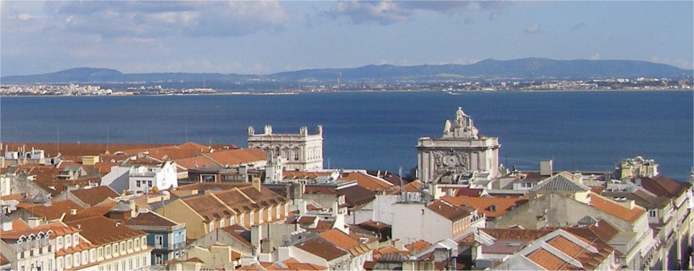 Lisbon: View of the city