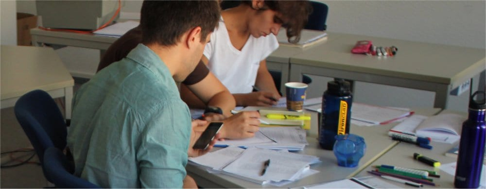 Cologne: German language students
