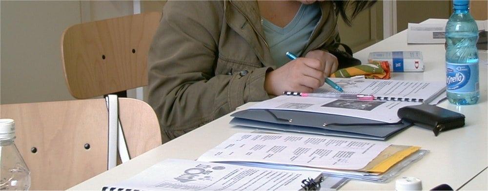 Milan: Students learning Italian