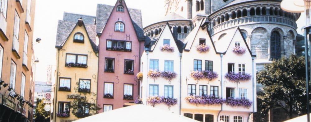 Cologne: Historic buildings