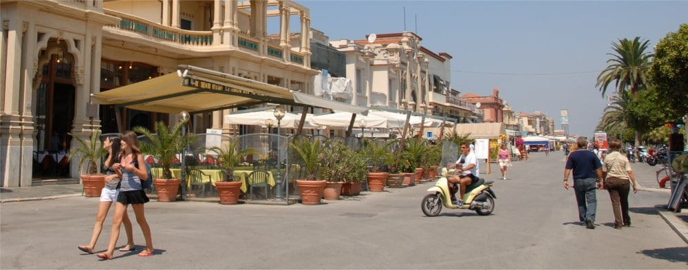 Viareggio: In the summer