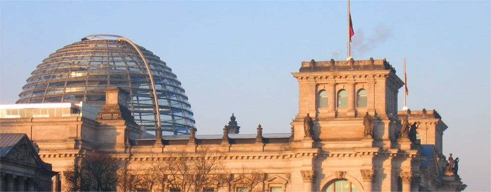 Berlin: Reichstag old and modern