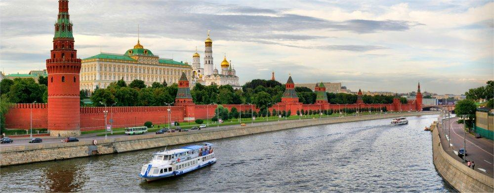 Moscow: River scene