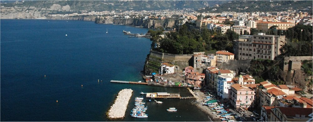Sorrento: Ariel view