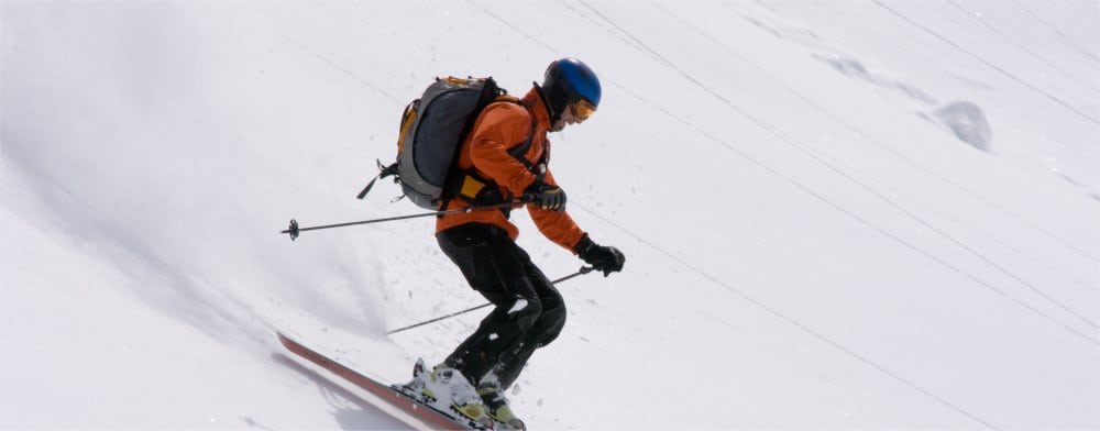 Kitzbuhel: Skier