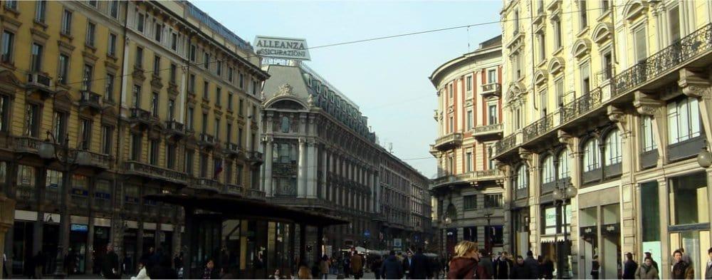 Milan: Street scene