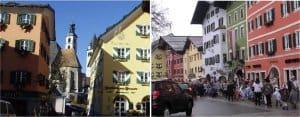 Kitzbuhel: Town streets