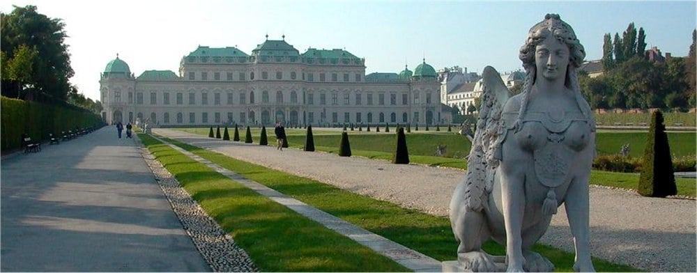 Vienna: Palace grounds