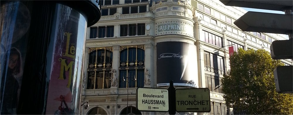 Paris 9th: Bvd Haussman