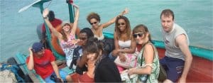 Guadeloupe: Excursion by boat