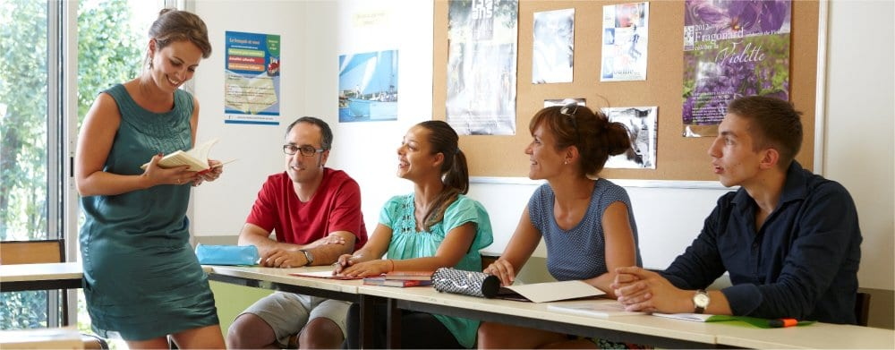 Antibes: French class