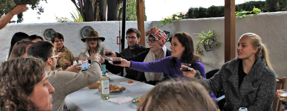 Granada Enjoying a drink together