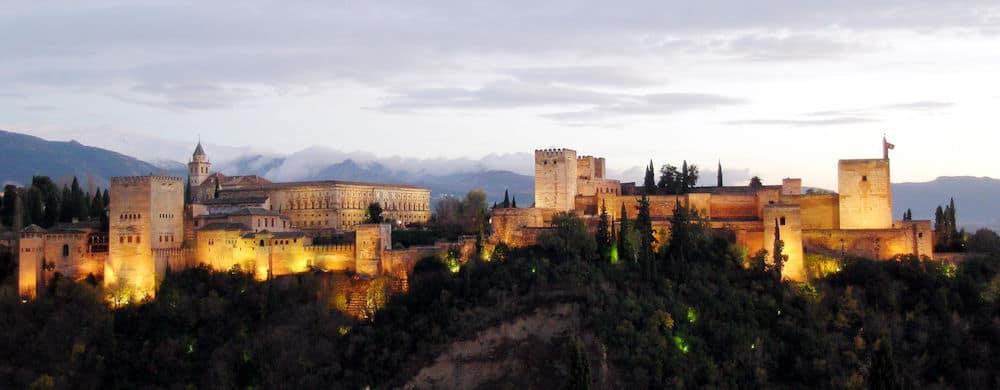 Granada Night sky