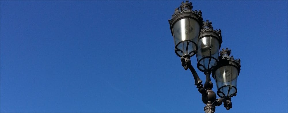 Paris 9th: Street lights
