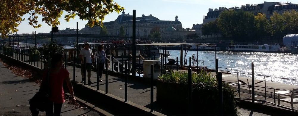 Paris 9th: The Seine