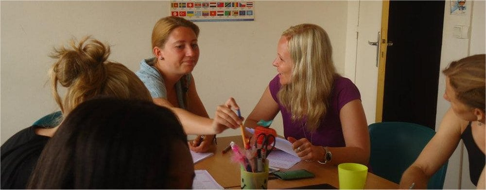 Guadeloupe: classroom