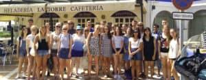 Malaga group trip for ice cream