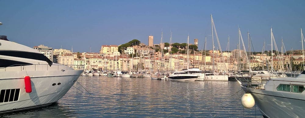 Cannes From the water