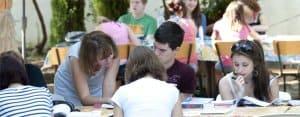 Nice Teen: Outdoor class