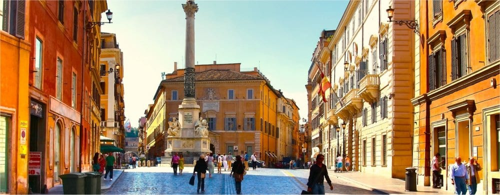 Rome: City Piazza