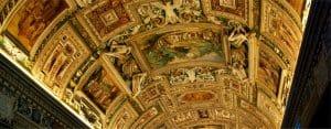 Rome: Vatican ceiling