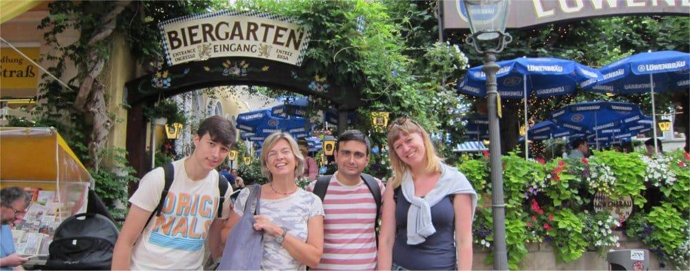 Heidelberg: Biergarten