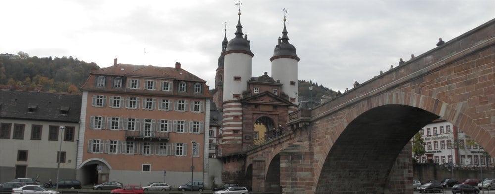 Heidelberg: Bridge over the river