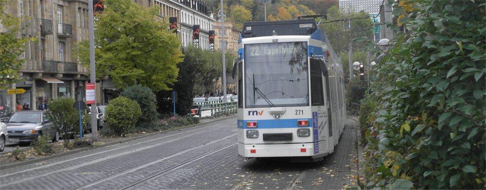 Heidelberg: Tram