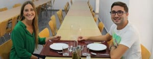 Cadiz: Residence dining hall