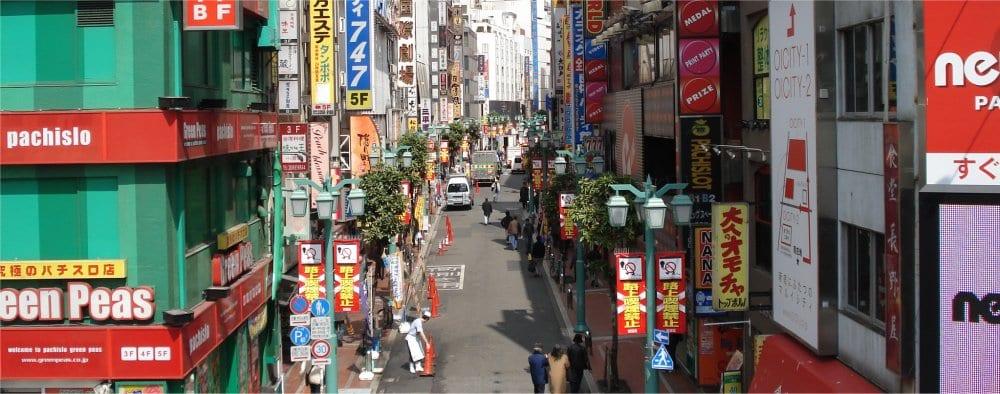 Tokyo: Shinjuku district in the city 4