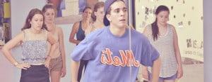 Salamanca: Boy leading dance group