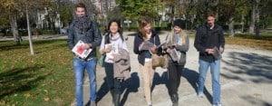 Madrid: Students