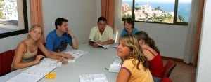 Malaga: Class shot