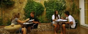 Nerja: Students