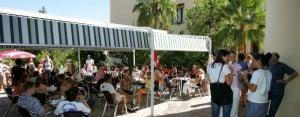 Malaga: Cafe