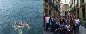 San Sebastian: Group