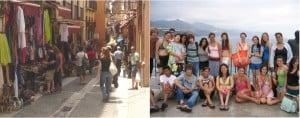 Granada: Town