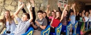 San Sebastian Juniors: Roller coaster