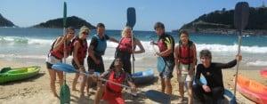 San Sebastian Juniors: Kayak