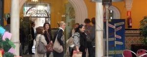 Seville: Arrival