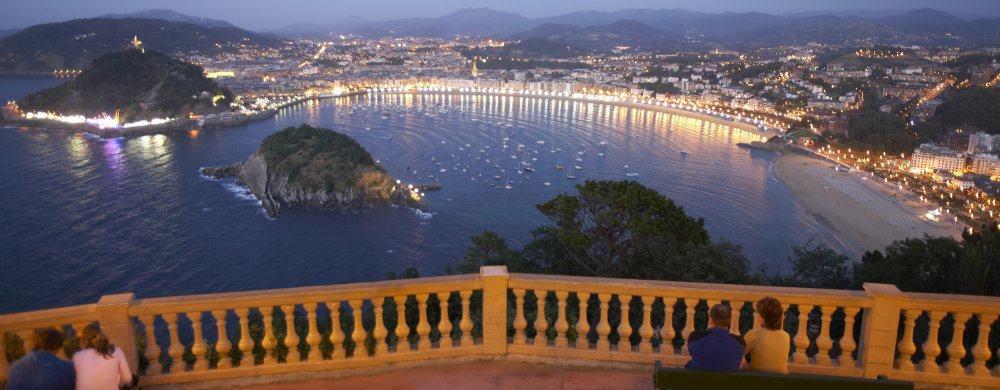 San Sebastian: View
