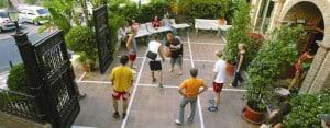 Malaga: Students at play