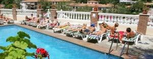 Malaga: Swimming pool