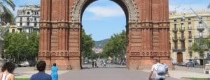 Barcelona: Arch
