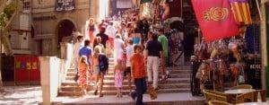 Palma de Mallorca: Steps