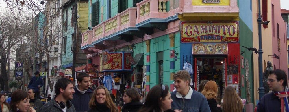 Buenos Aires: Bocca Street Scene