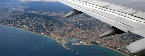 Cannes: Ariel view of Cannes