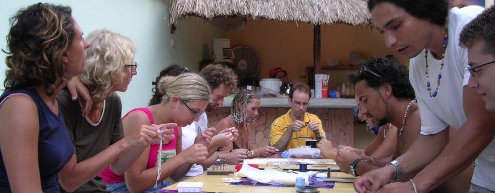 Playa del Carmen: Artesania class